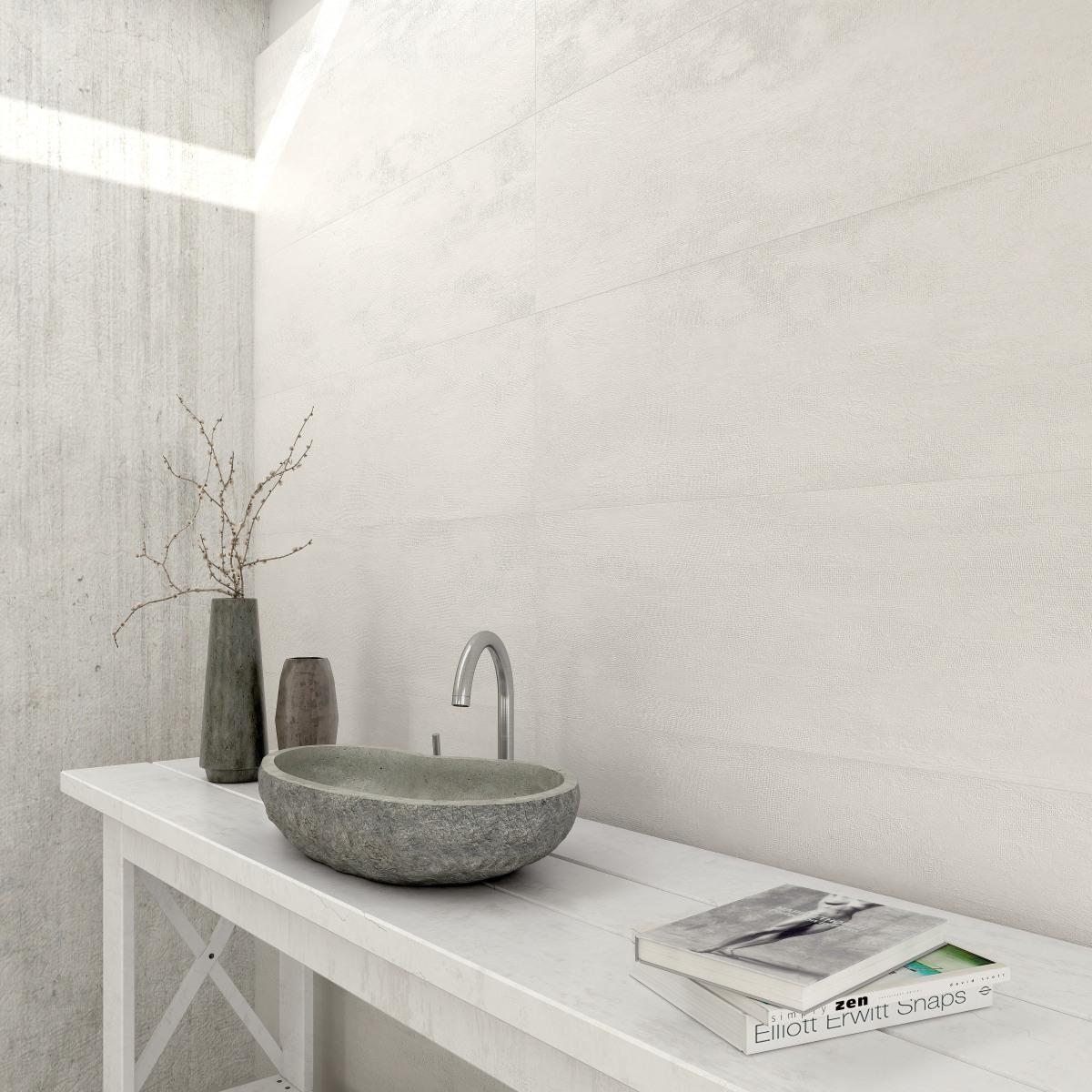 Ambiente Bano Wabi Fabric Blanco Web